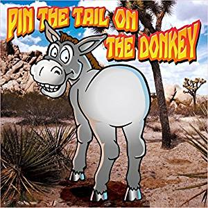image about Pin the Tail on the Donkey Printable named Economical Printable Pin The Tail Upon The Donkey Video game, identify
