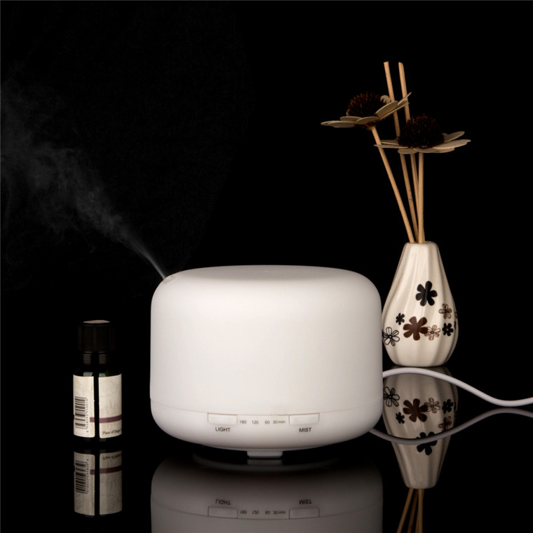 5V USB Fantasy Anion Humidifier Oil Difuser With Wood Grain