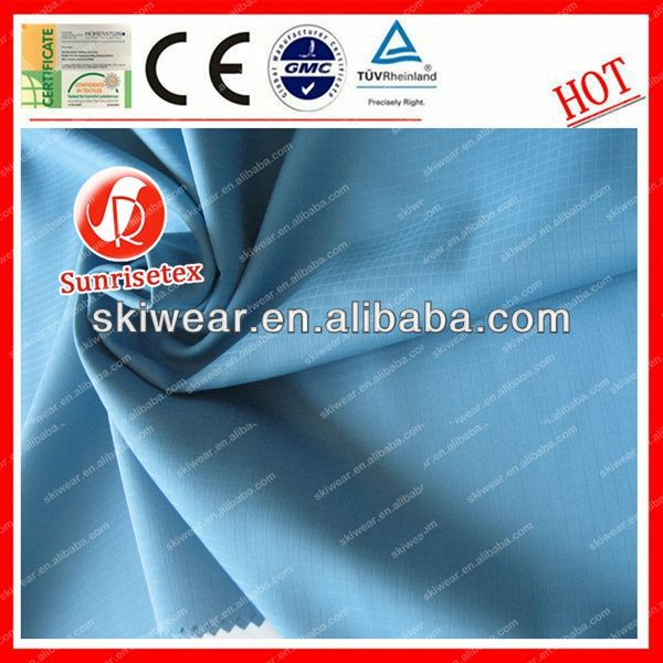 Functional Water Resistant polyester fabric korea manufacturer