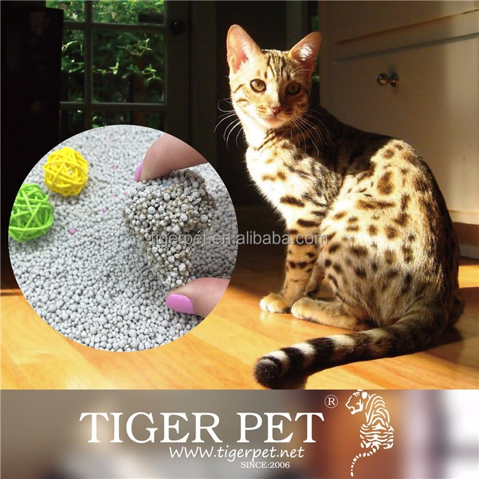 Hot Sale, Customised Odor , Uniform Particle, Cat Litter