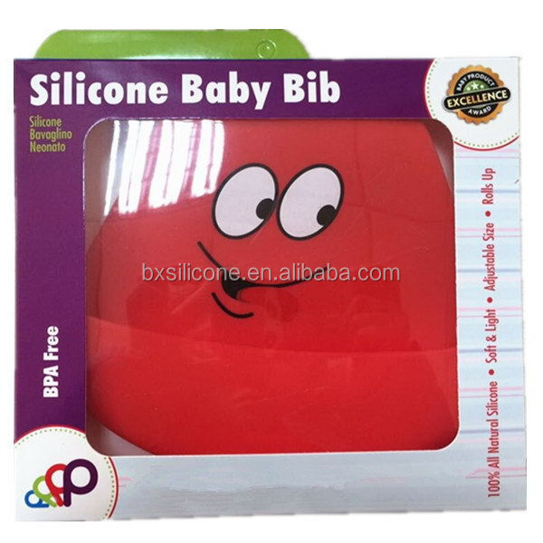 New style hot sell fda disposable bib silicone baby bib