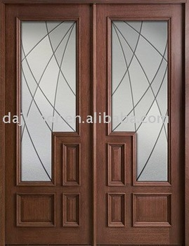 High Quality Front Double Doors Wooden Dj S9903m Buy