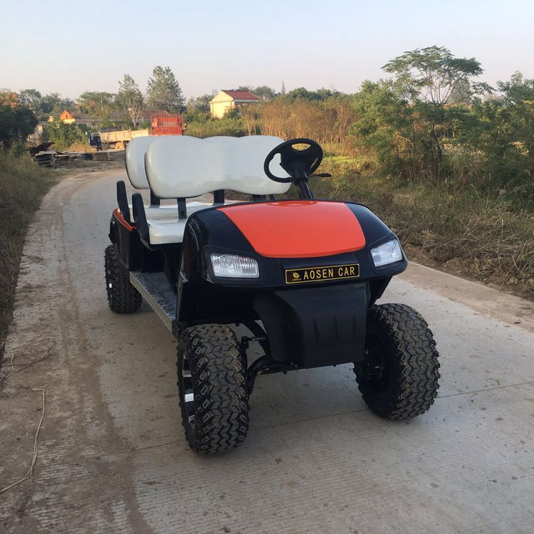 China factory club car golf cart with battery charger