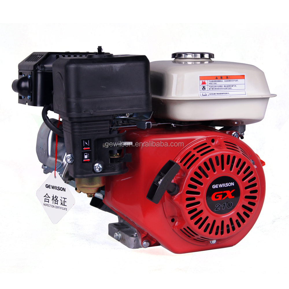 2017 Factory price Gasoline Engine 5.5HP air cooled 4 stroke Motor copy Honda GX 160