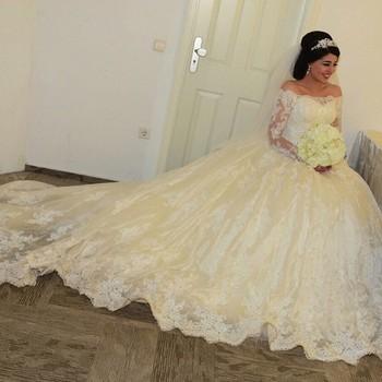 Elegant Long Sleeve Dresses Vjnyage