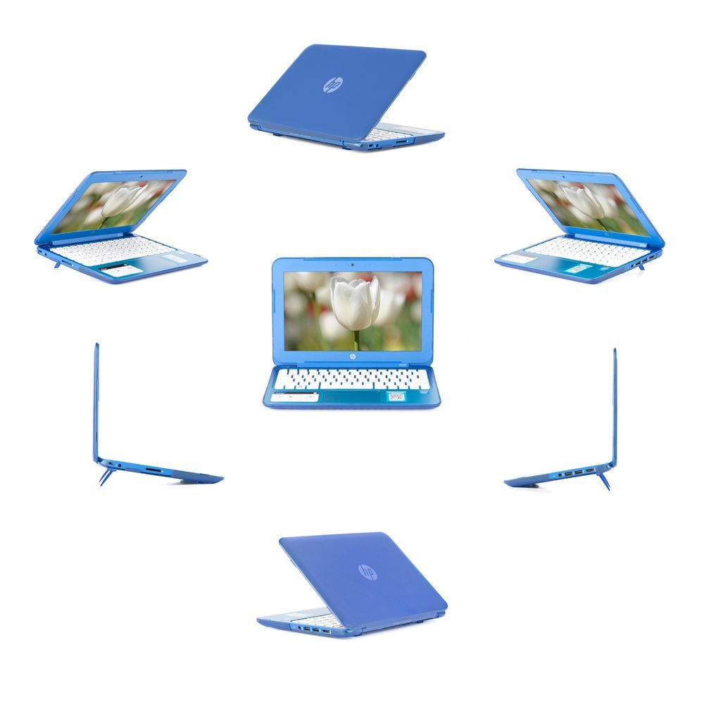 """iPearl mCover Hard Shell Case for 13.3"""" HP Stream 13 Cxxx series Windows laptops (Blue)"""