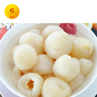 High Quality Canned Lychee Fruit Canned litchi Whole in Heavy or Light Syrup