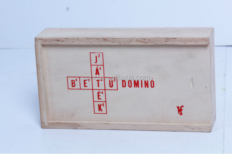 High top quality wooden scrabble tiles