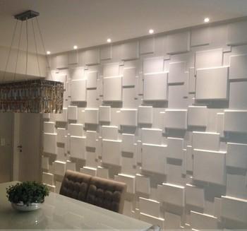 Exceptional 3D Fibre Decor Wall Coating For Interior Wall