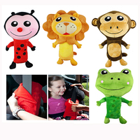 Hot Sale Ladybug Lion Frog Monkey Animal Shaped Plush Car Seat Belt Cover