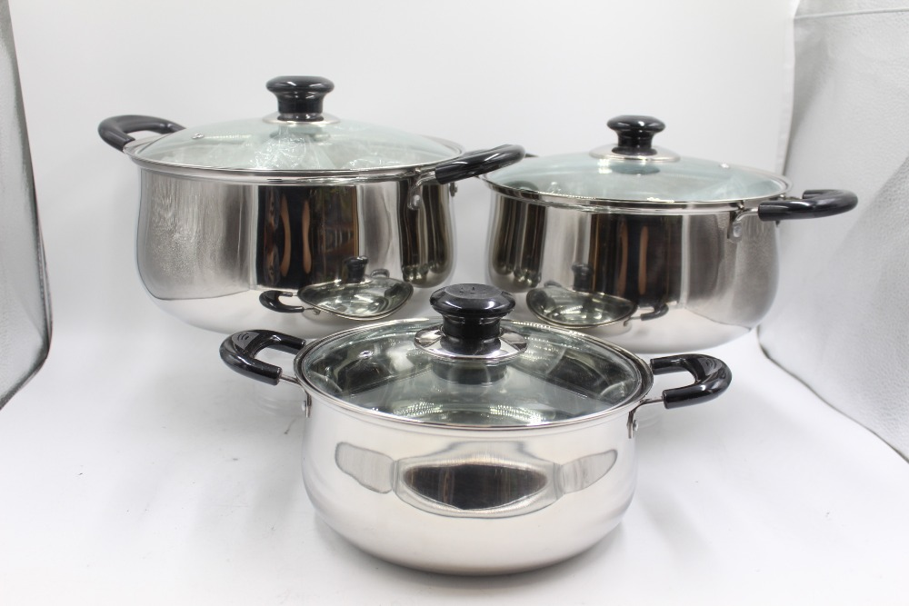 German Kitchenware 555 Stainless Steel Camping Cookware Cooking ...