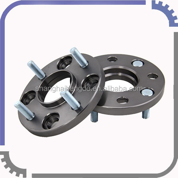 Billet Wheel Spacers 4x114.3 15mm Thick 1.25mm thread hub centric