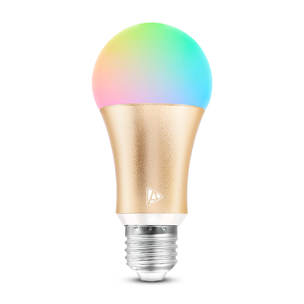Tp Link Smart Bulb Led Lighting Bulb Color Change/on/off/timer Controlled  By Alexa And Google Home App Can Be Christmas Light - Buy Wifi Wall Plug
