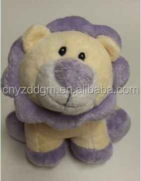 pets wholesale Rattle Lion 9 inch Plush Stuffed Animal
