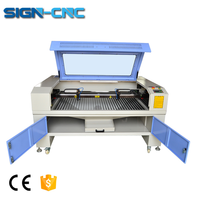 SIGN-1490 CO2 laser engraver machine for wine glass, bottle glass laser engraving machine