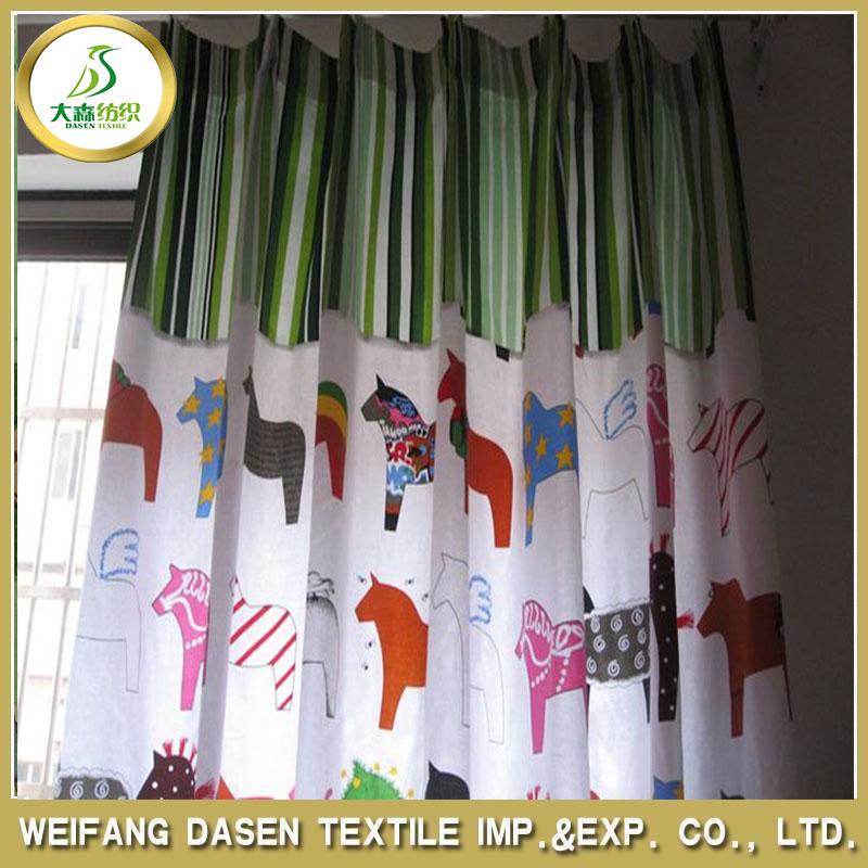 F brica de china mercado barato organza telas de las - Telas para cortinas precios ...