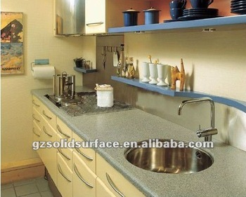 Man Made Marble Countertop  Seamless Joining Solid Surface