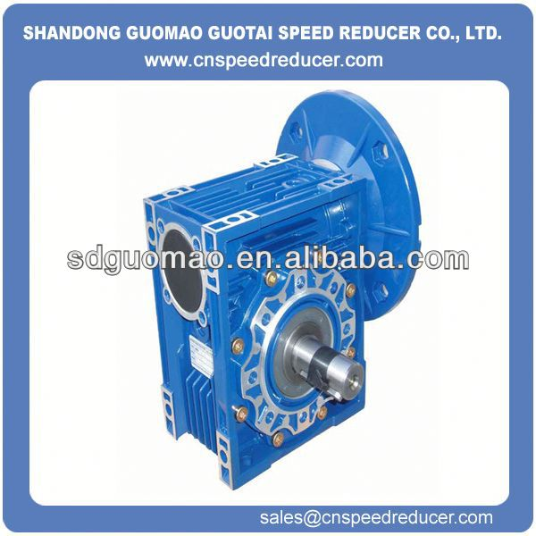 RV Series 2 1 ratio gearbox with lower noise