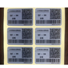 Adhesive custom oil proof barcode labels