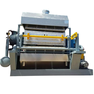 China suppliers CE Certification pulp moulding equipment egg carton making machine
