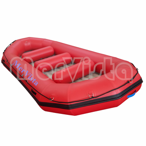 Rubber PVC Floating Tubes Fishing Inflatable Self Inflating Life  Self-Bailing Rafting Boat