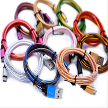 Factory Price Micro USB Data sync Cable Charger for iPhone 3ft 6ft 10ft