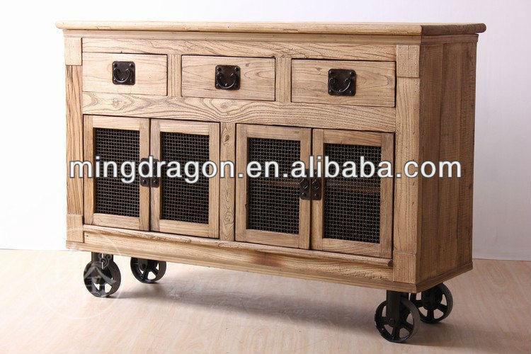 chineses mobili antichi mobile da cucina con ruote-Armadietto di legno ...