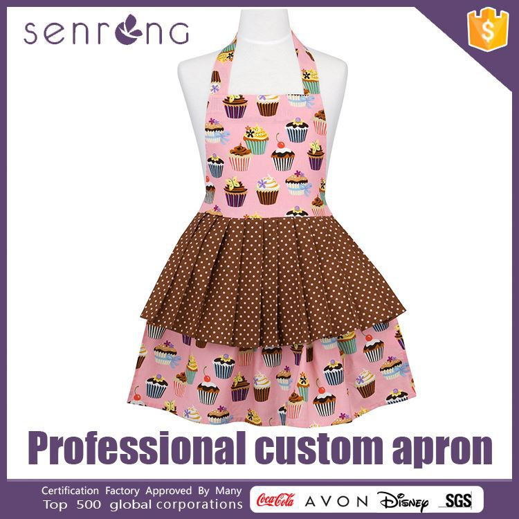 Plastic Apron With Sleeves Red Apron