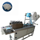 Full automatically non-woven face mask blank making machine , medical face mask machine