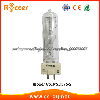 High Lumens Msd 250/2 Gy9.5 Ceramic Base Metal Halide Lamp Bulb ...