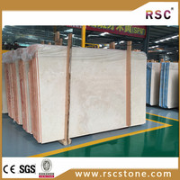Cream Marfil first class marble slab