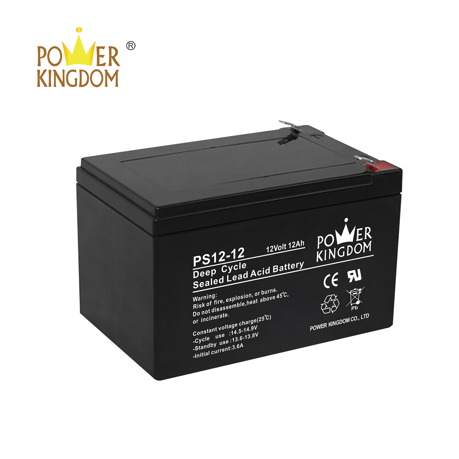 New best agm battery for rv factory price vehile and power storage system