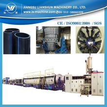PEG1200 extrusion machine making large diameter PE pipe