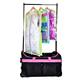 Trolley Bag with Garment Rack Dance Garment Bag