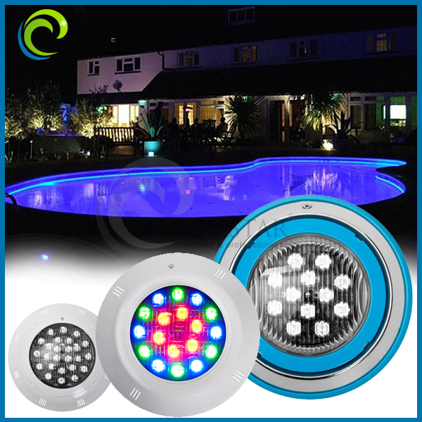 12volt Rgb Remote Control Led Surface Mounted Pool Light