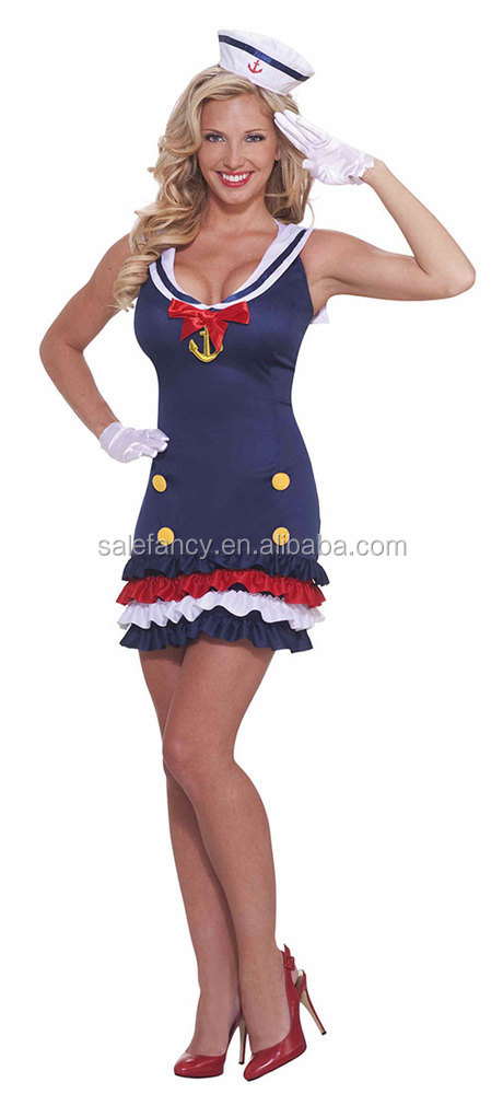 50s vintage dress navy sailor girl child costume halloween costume qawc 2370 buy halloween costumevintage dresssailor girl child costume product on