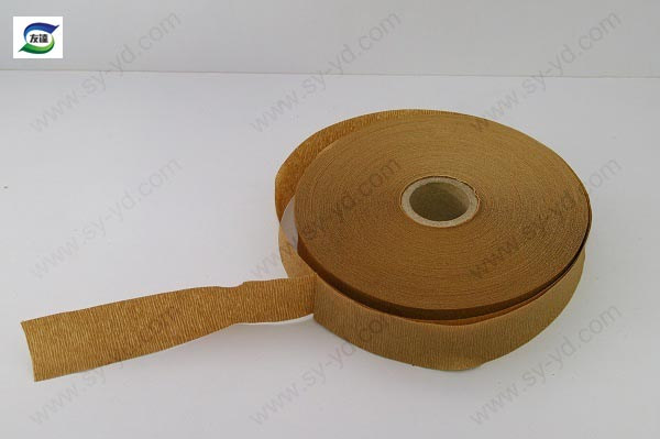 crepe paper tape roll  insulation material for transformer China manufacturer