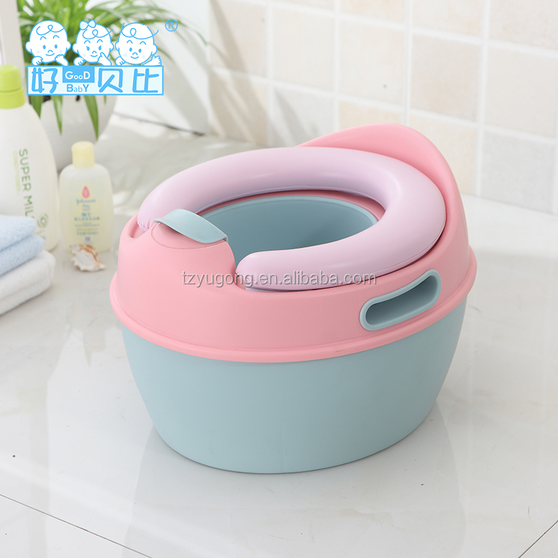 Promotional plastic potty for baby/toddler/kid Simple detachable baby potty chair Baby potty Multifunction Potty training seat