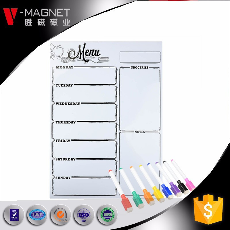 no frame white board magnetic dry erase whiteboard