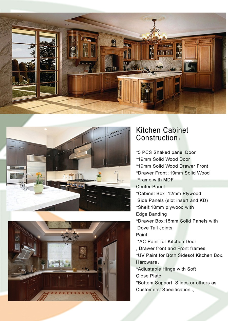 Hot new products kitchen cabinet designs solid wood for wholesale