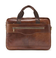 Fashion business bag briefcase business bag leather man