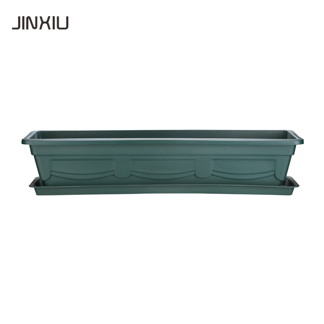 wholesale rectangle terrabbox planter green clay plants plastic orchid garden bonsai nursery balcony pot flower pots & planters
