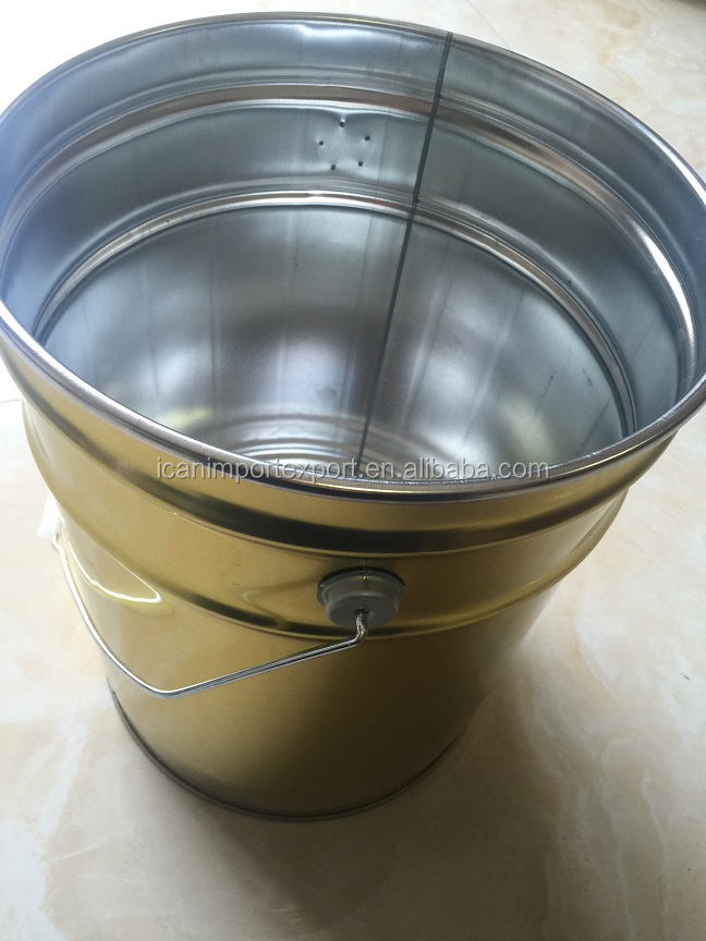 Tinplate barrel used for paint, coating, chemicals in high quality