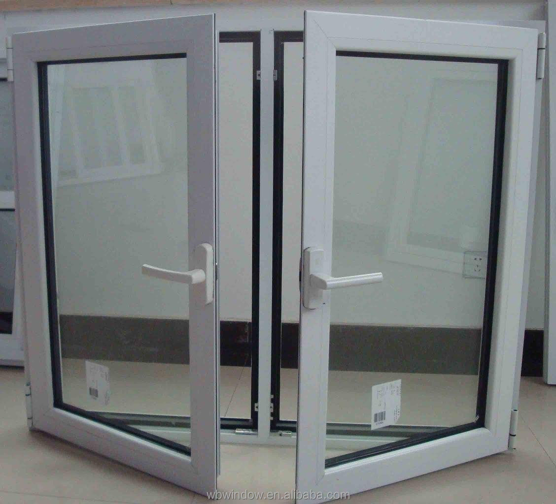 Energy star insulating glass vinyl tilt turn windows with for High insulation windows
