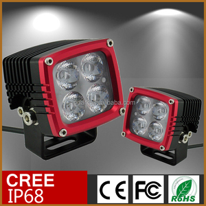 CNC made 3inch led car light bar IP69K 3'' square led work light 4x4 bull bar mounted light bars