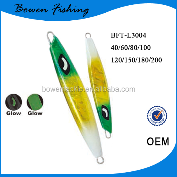 2017 Hot Sale luminious lead jig for fishing lead jig BFT-L3004