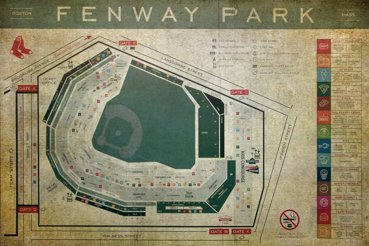 Cheap Nationals Park Seating Chart Find Nationals Park