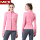 Wholesale High Quality Fashion Workout Clothing SUPPLEX Activewear Girls Fancy Yoga Jacket