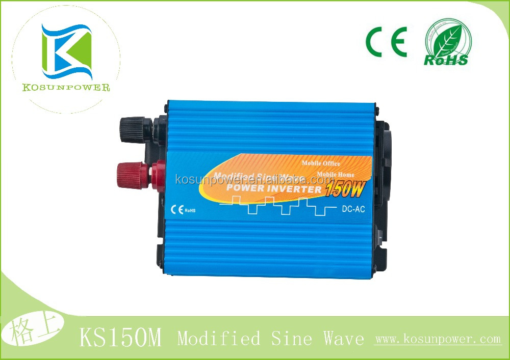 small style 150w Modified sine wave inverter for car