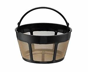 Replacement for Cuisinart GTF-B Permanent basket GoldTone Coffee FIlter 8-12 Cup